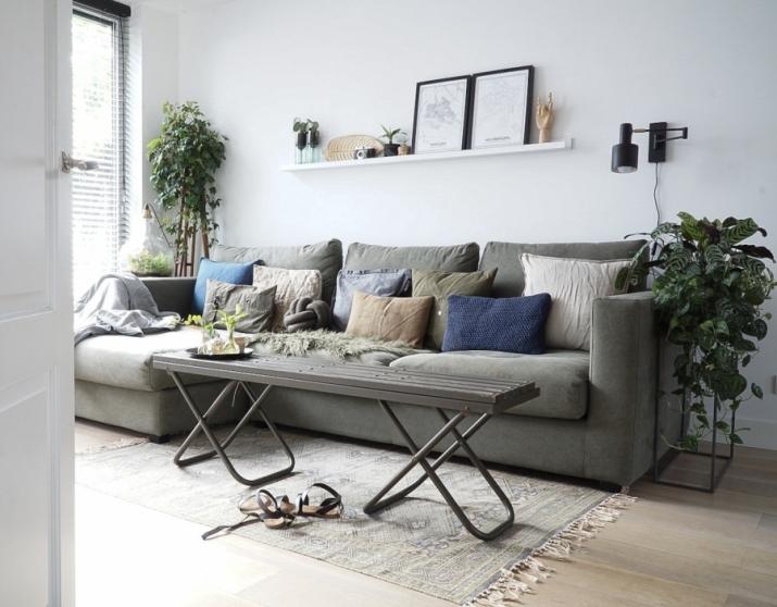 Wij hebben gekozen voor twee zitgedeeltes en een loungestuk