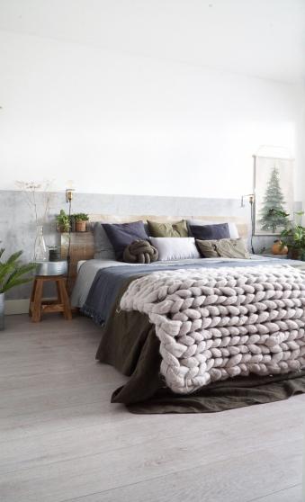 In november mocht ik de slaapkamer een make-over geven i.s.m. Woonboulevard  Breda XXL