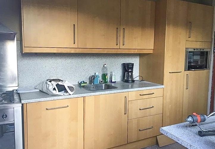 Zo zag de keuken eruit voor de metamorfose...
