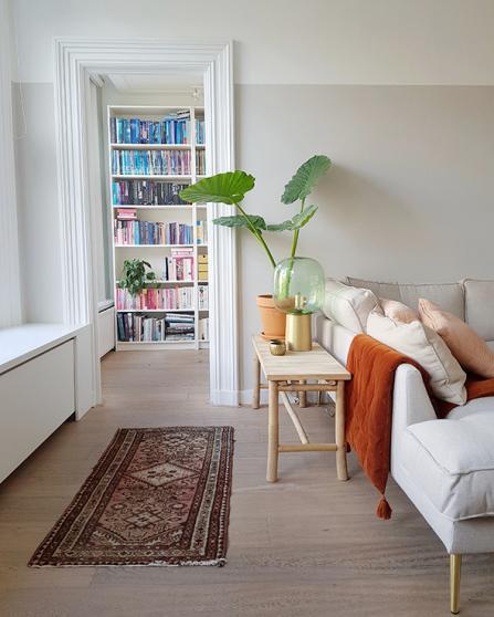 Doorkijkje in de woonkamer